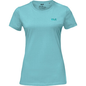 Jack Wolfskin Essential T-Shirt Damen aqua